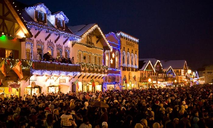 Leavenworth - Lower Queen Anne: Leavenworth Christmas Lighting Festival at Leavenworth