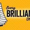 """Every Brilliant Thing"" - Sunday, Apr. 1, 2018 / 1:45pm"