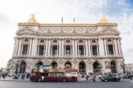 Billet coupe-file: billet pour le Big Bus à arrêts multiples et pour une visite autoguidée de l'opéra Garnier
