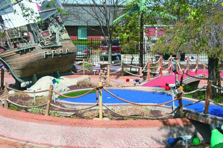 $18 For 1 Round Of Mini Golf For 4 Players (Reg. $36)