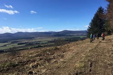Beginners Ride in Aberdeenshire