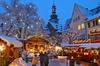 Besuch des Weihnachtsmarkts und Weihnachts-Abendessen ab Frankfurt