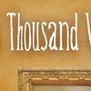 """""""A Thousand Words"""" - Thursday, Apr. 19, 2018 / 8:30pm"""