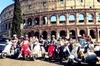 Tour di 3 ore di Roma in Vespa per piccoli gruppi con pranzo in piedi