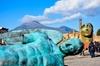 Gita di un giorno a Pompei e sul Vesuvio con partenza da Napoli