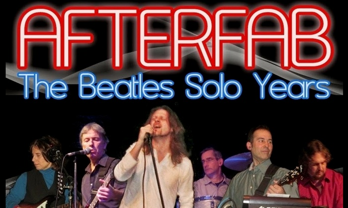 Regent Theatre - Arlington Center: AfterFab: Tribute to the Beatles' Solo Years at Regent Theatre