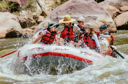 4-Day Family River Rafting Trip on the Green River through Lodore Canyon photo