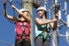 Wild Blue Ropes Adventure Park Challenge Course