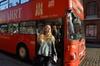 Hop-on-Hop-off-Tour im roten Doppeldeckerbus durch Hamburg
