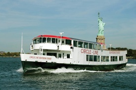 Statue of Liberty Express Cruise at New York Water Taxi, plus 6.0% Cash Back from Ebates.
