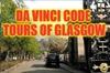 Walking Tour @ Glasgow's Necropolis with a Da Vinci code twist.