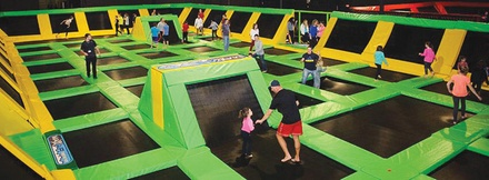 max air trampoline park max air trampoline park groupon. Black Bedroom Furniture Sets. Home Design Ideas