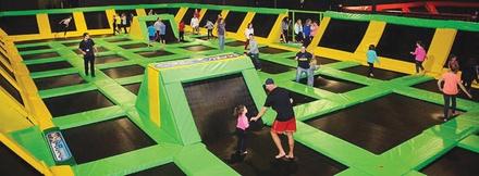 max air trampoline park max air trampoline park groupon. Black Bedroom Furniture Sets. Home Design Ideas