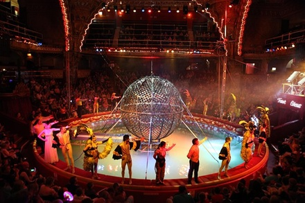The Blackpool Tower Circus Admission Ticket