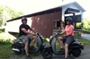 Strasburg Scooters - Harrisburg / Lancaster: Small-Group Strasburg Covered Bridge Tour by Single-Seat Scooter