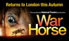 Tickets to see War Horse