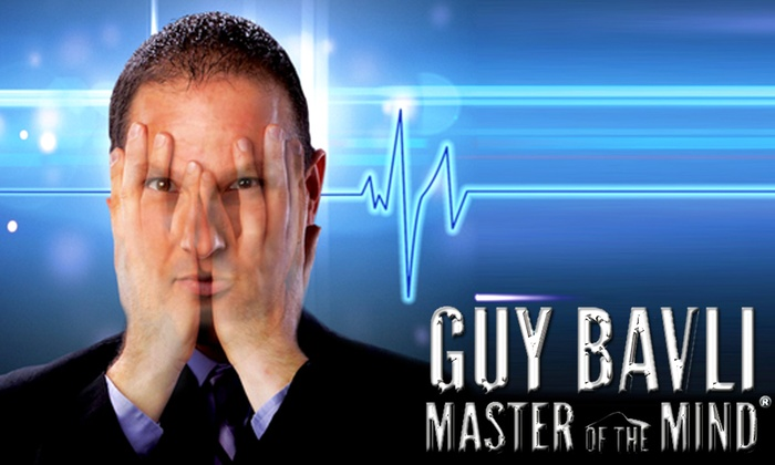 The Palm Beaches Theatre - The Palm Beaches Theatre: Guy Bavli: Master of the Mind at The Palm Beaches Theatre