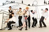 Curtis Theatre - Brea Civic & Cultural Center - Birch Hills: Janet Klein and Her Parlor Boys at Curtis Theatre - Brea Civic & Cultural Center