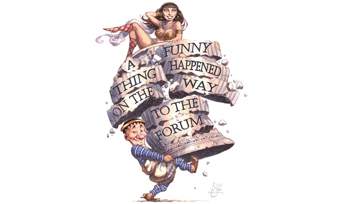 Attic Community Theater - South Harbor: A Funny Thing Happened on the Way to the Forum at Attic Community Theater