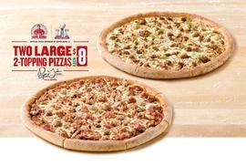 PAPA JOHN'S PIZZA: $10 For $20 Worth Of Papa John's Pizza