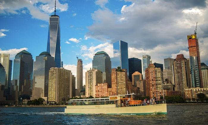 Yacht Manhattan - New York: Around Manhattan Official NYC Architecture Tour