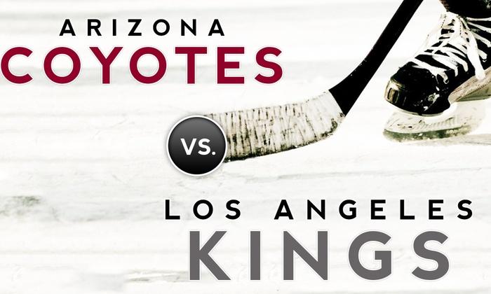 STAPLES Center - Staples Center: Arizona Coyotes vs. Los Angeles Kings: Preseason Hockey at STAPLES Center