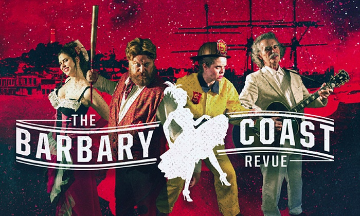 Balançoire  - Mission: The Barbary Coast Revue: Season Three at Balançoire