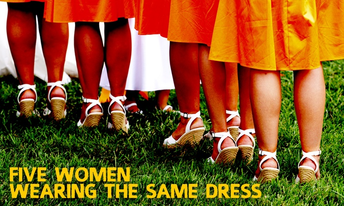Avenue Theater - Central Denver: Five Women Wearing the Same Dress at Avenue Theater