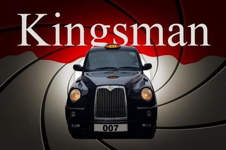 James Bond 007, The Kingsman, plus Spies and Villains Black Taxi Tour (London)