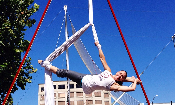 SwingIt Trapeze - The Colony: One-Hour Aerial Combo Class