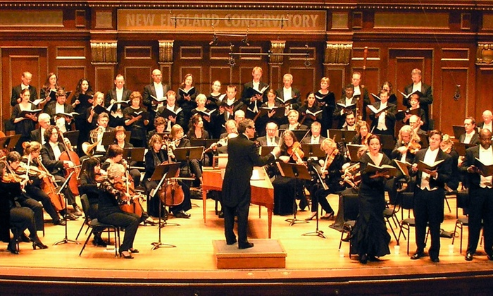 Jordan Hall at New England Conservatory - Fenway - Kenmore - Audubon Circle - Longwood: Boston Baroque: Handel's Messiah at Jordan Hall at New England Conservatory