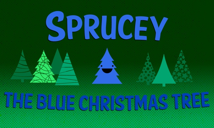 OnStage Atlanta - Scottdale: Sprucey, The Blue Christmas Tree at OnStage Atlanta