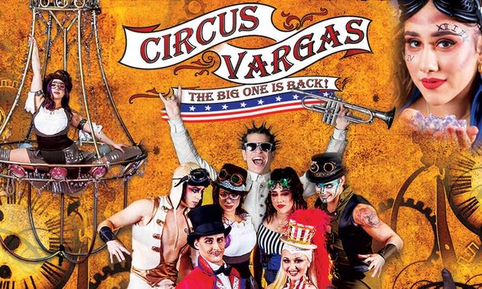 """Circus Vargas: """"Steam Cirque"""""""