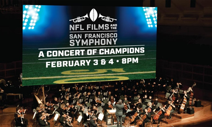 Davies Symphony Hall - Davies Symphony Hall : NFL Films and the San Francisco Symphony: A Concert of Champions at Davies Symphony Hall