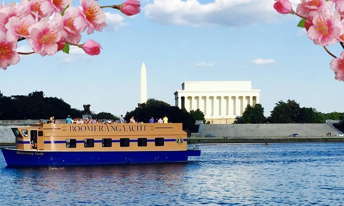 Georgetown Waterfront - Georgetown: Cherry Blossom Potomac River Cruise at Georgetown Waterfront