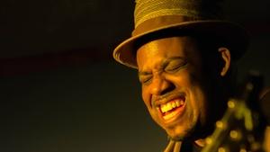 B.B. King Blues Club: B.B. King Birthday Tribute With Blues Guitar Great Slam Allen at B.B. King Blues Club