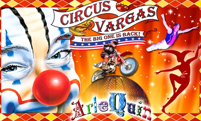 Circus Vargas at Meadows Mall  - Meadows Mall: Circus Vargas: ArleQuin at Circus Vargas at Meadows Mall