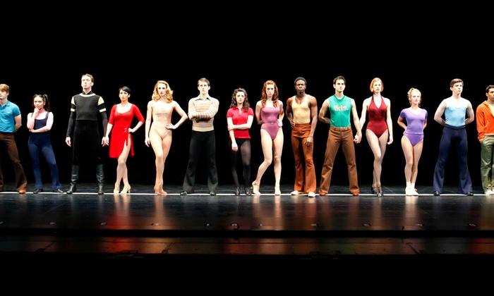 The Secret Theatre - Long Island City: A Chorus Line at The Secret Theatre