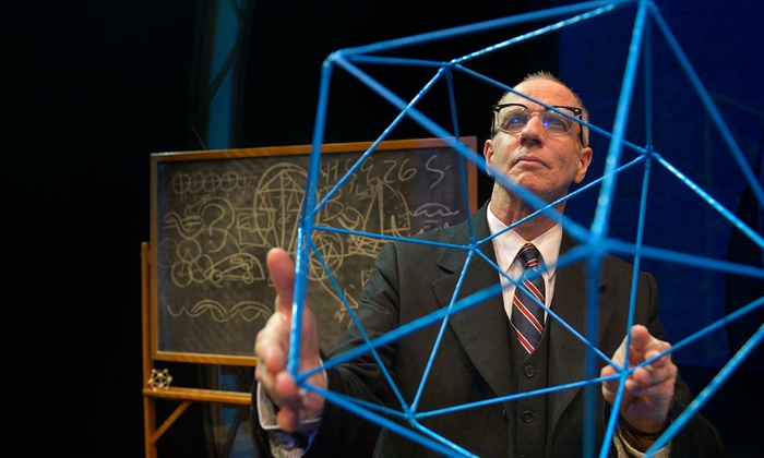 The Lyceum Stage - Central San Diego: R. Buckminster Fuller: The History (and Mystery) of the Universe at The Lyceum Stage