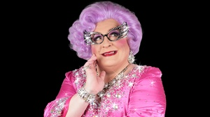 Cabaret Theater at CAMP Bar: Celebrity Impersonator Michael Walters as Dame Edna at Cabaret Theater at CAMP Bar