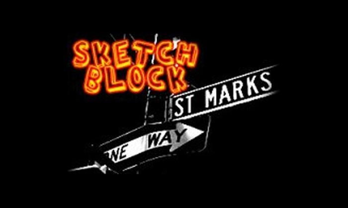 Under St. Marks  - East Village: Sketch Block at Under St. Marks