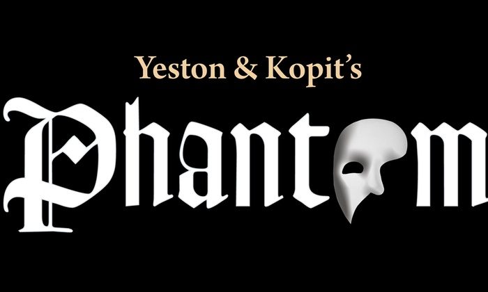 Bloomington Center for the Arts - Schneider Theater - East Bloomington: Yeston and Kopit's Phantom at Bloomington Center for the Arts - Schneider Theater