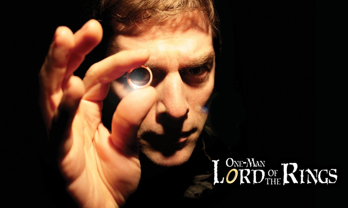Regent Theatre - Arlington Center: One-Man Lord of the Rings at Regent Theatre