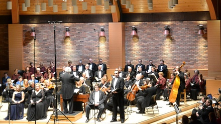 A Holiday Postcard -- An All Baroque Holiday concert with Handel's Messiah at St. Andrew Catholic Church