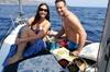 Cena privata in barca a vela