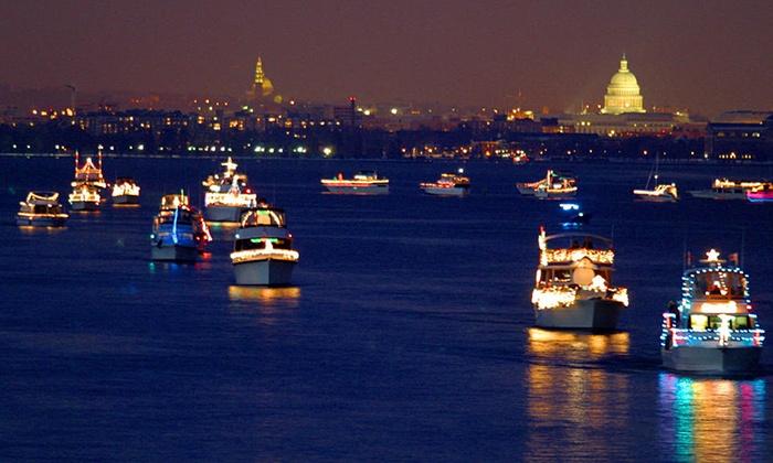 Nina's Dandy - Downtown Alexandria: Alexandria's Boat Parade of Lights Dinner Cruise at Nina's Dandy