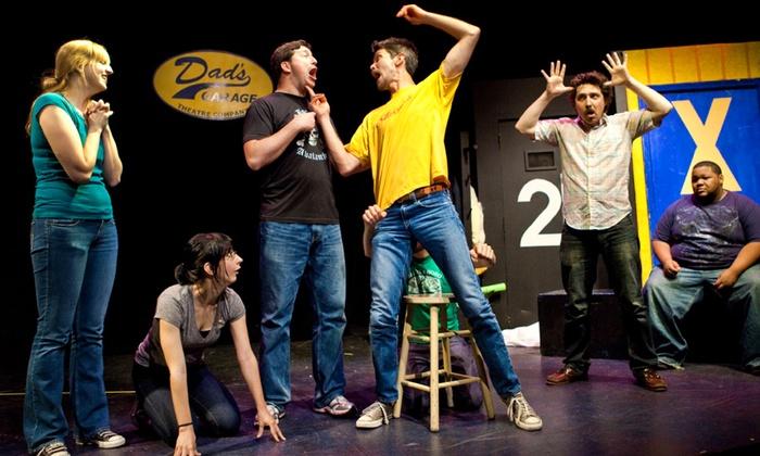 Aurora Theatre - Main Stage - Riverwalk: Dad's Garage Theatre Company Improv at Aurora Theatre - Main Stage