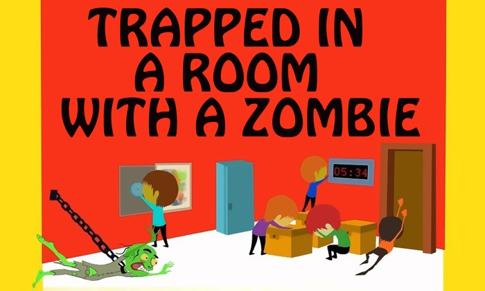 Trapped in a Room with a Zombie Houston - Downtown: Trapped in a Room With a Zombie