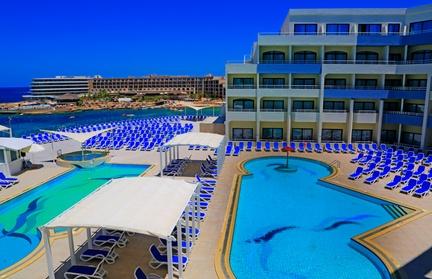 ✈ MALTE   Mellielha - Labranda Riviera Resort & Spa 4* - Bord de mer