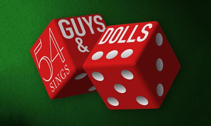 54 Below - 54 Below - Broadway's Supper Club: 54 Sings Guys and Dolls at 54 Below